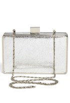 Expressions NYC 'Crinkle' Box Clutch