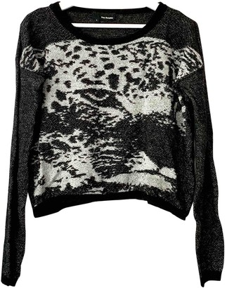 The Kooples Anthracite Cotton Knitwear for Women