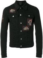 Christian Dior patch-embellished denim jacket - men - Cotton/Spandex/Elastane - 48
