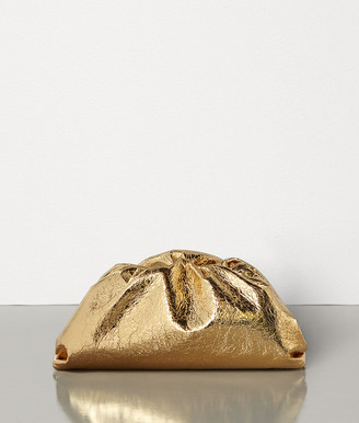 Bottega Veneta The Pouch In Metallic Nappa