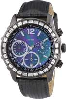 GUESS GUESS? W0017L3 40mm Stainless Steel Case Grey Calfskin Mineral Men's Watch