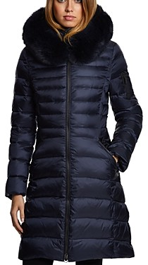 Dawn Levy Milly Fur Trim Puffer Coat