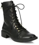 Joie Hartlyn Leather Combat Boots