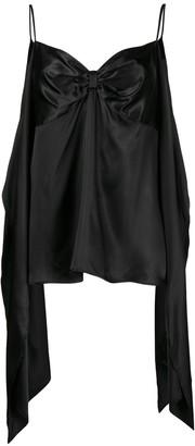 MM6 MAISON MARGIELA draped slip vest