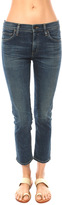Citizens of Humanity Agnes Crop Mid Rise Slim Straight Jean