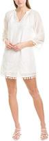 Greylin Nikita Silk-Blend Shift Dress