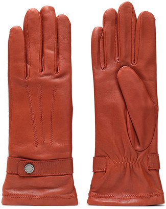 Agnelle Celine Leather Gloves