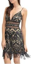 Saylor Black Lace Dress