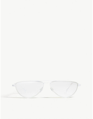 Selfridges Frequency irregular frame sunglasses