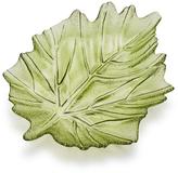 Sur La Table Glass Leaf Plate