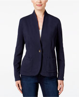 Style&Co. Style & Co. Petite Collarless Blazer, Only at Macy's