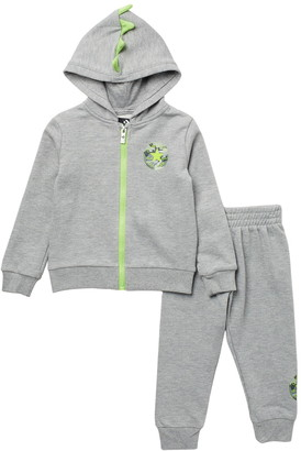 Converse Full Zip Hoodie & Joggers Two-Piece Set