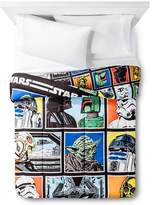 Star Wars Classic Full Comforter Black