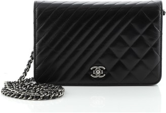 Chanel Coco Boy Wallet on Chain Quilted Lambskin