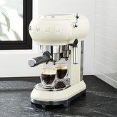 Crate & Barrel Smeg Cream Espresso Maker
