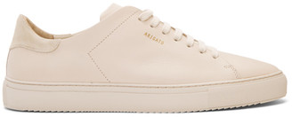 Axel Arigato Biege Clean 90 Sneakers