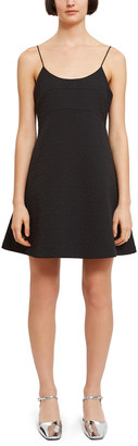 Opening Ceremony Solid Quilted Dress