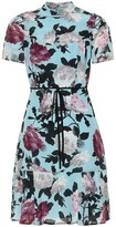 Erdem Anne floral silk minidress