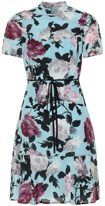 Erdem Anne floral silk minidress