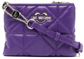 Love Moschino Double-Pouch Cross-Body Bag