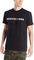 DC Men's Shoecousa Short Sleeve Screen Tee