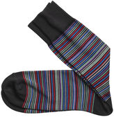 Johnston & Murphy Multi Mini Stripe Socks