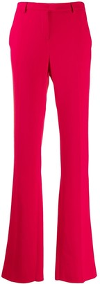 Roberto Cavalli high-waisted flared trousers