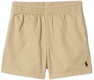 Polo Ralph Lauren Kids Cotton Chino Pull-On Shorts (Infant) (Classic Khaki) Boy's Shorts