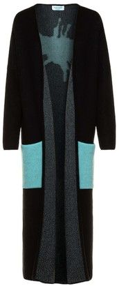 The Guestlist Collection The Guestlist X Tina Harf -Pia Cashmere Splash-Maxi Cardigan