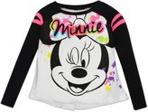 "Disney Toddler Girls' Minnie Mouse Fashion Top - ""Color Splash"""