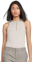 Polo Ralph Lauren Keyhole Sleeveless Jersey Top