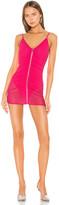 superdown Chandra Mesh Mini Dress