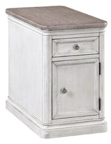 Panama Jack Sonoma Block End Table with Storage Home