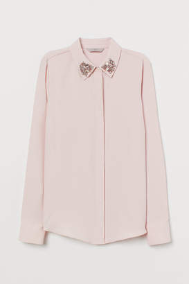 H&M Blouse with sparkly stones