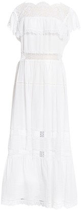Vilshenko White Cotton Dresses