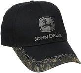 John Deere Men's Camo Barb Wire Bill Cap
