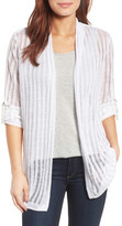 Nic+Zoe Sheer Nights Linen Blend Cardigan (Regular & Petite)