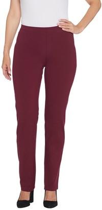 Women with Control Regular Pull-On Slim Leg Pants