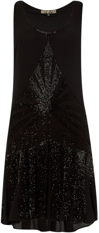 Thumbnail for your product : Biba Embellished flapper dress