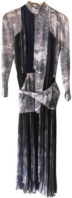 Leonard Purple Silk Dresses