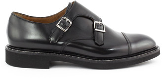Doucal's Doucals Black Leather Loafer
