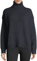 Vince Oversized Knit Turtleneck Sweater