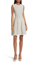 Ted Baker Women's Bryena Jacquard Fit & Flare Dress