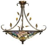 Dale Tiffany Crystal Peony Light Fixture