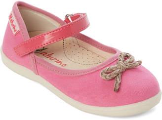 Naturino Toddler Girls) Fuchsia Bow Mary Jane Shoes