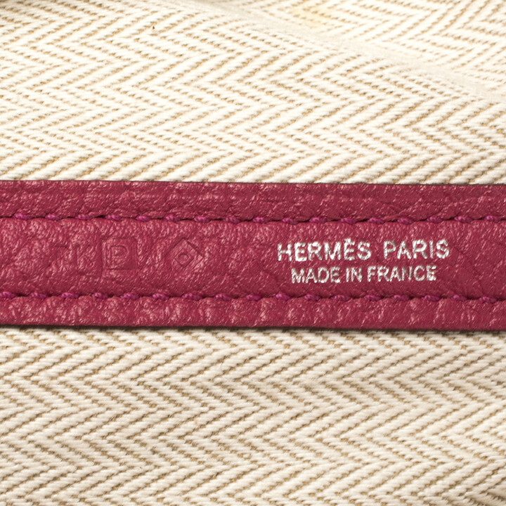 Thumbnail for your product : Hermes Tosca Negonda Leather Garden Party 36 Bag