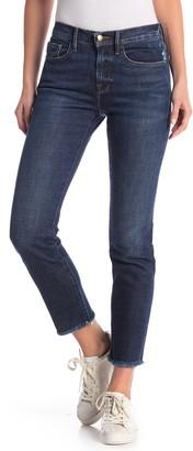 Frame Le Boy Fray Hem Jeans
