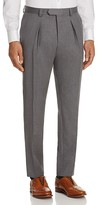 HUGO BOSS Double Pleated Slim Fit Trousers