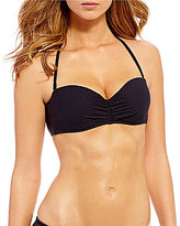 Coco Rave Texture Solids Bae Push Up Bra Size Underwire Bandeau Top