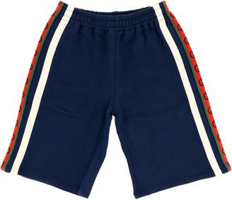 Gucci Bermuda Shorts With Gg Band